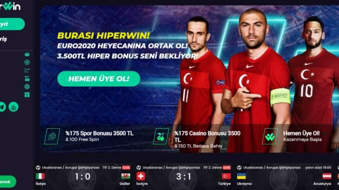 Hiperwin 3D Slot Oyunları